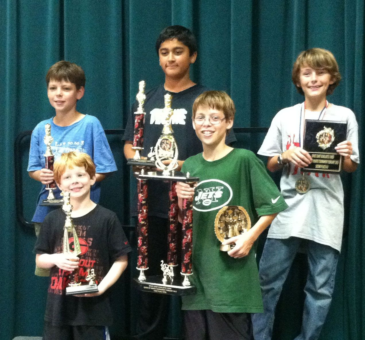 Lower and Middle School Chess students compete on the Space Coast.