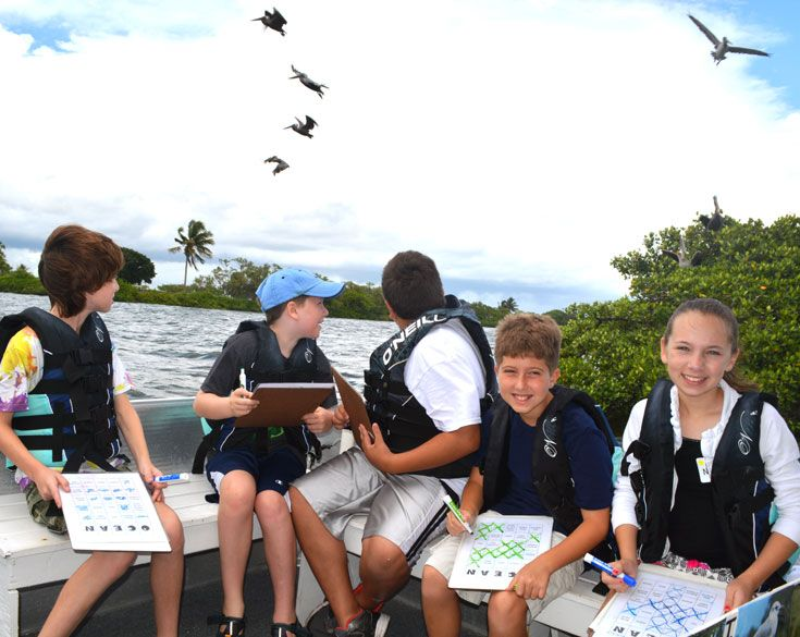 Our picturesque campus on the Indian River Lagoon waterfront also provides unique learning opportunities.