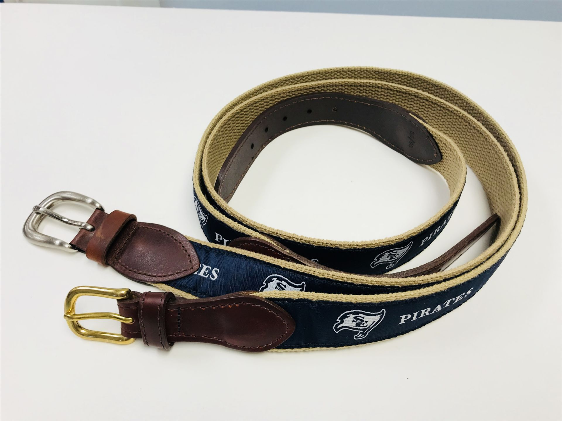 Beautifully made belts in sizes 20