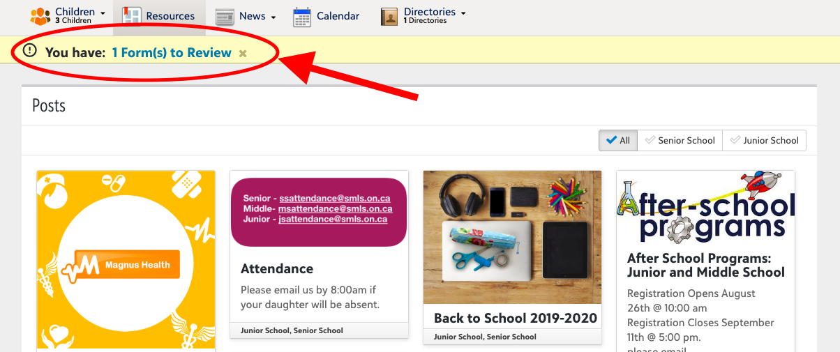 St  Mildred's-Lightbourn School Back to School Info 2018-2019