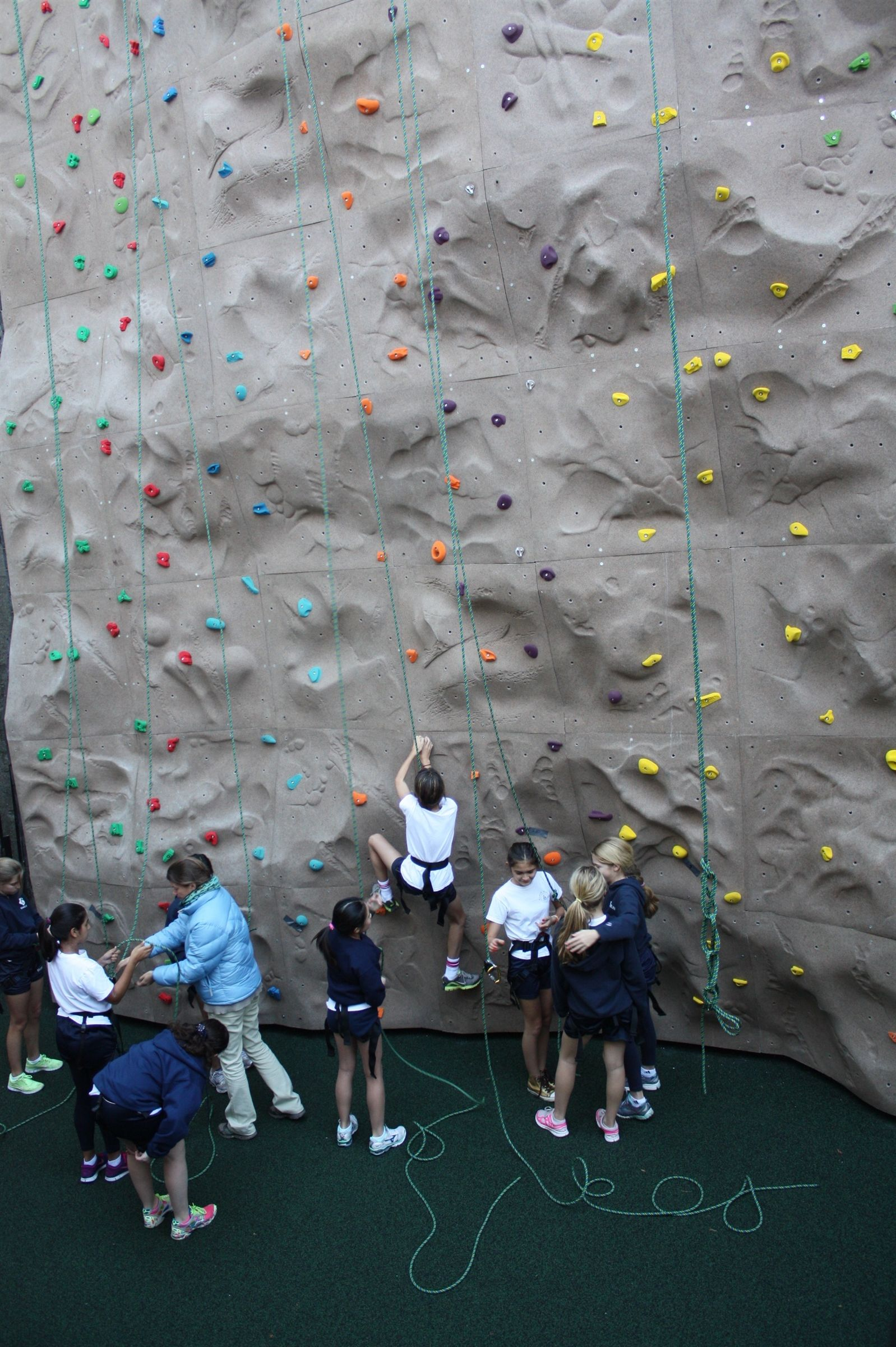 Middle School Climbing Wall