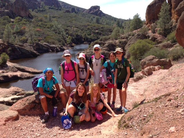 Grade 6: Four days, three nights – camping, hiking, rock climbing, Pinnacles National Park