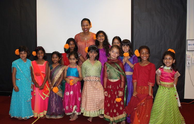 Students and faculty celebrate Diwali, the Indian festival of lights.