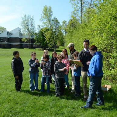 Middle School students also join Earth Spirit environmental educators several times a year.