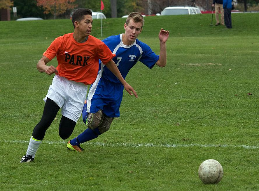 Boys Varsity Soccer (Photo: Larry Scheur)