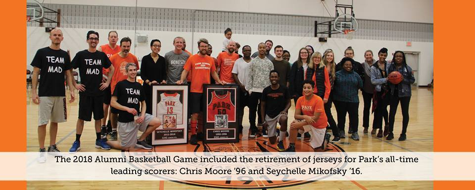Sychelle Mikofsky '16 & Chris Moore '96