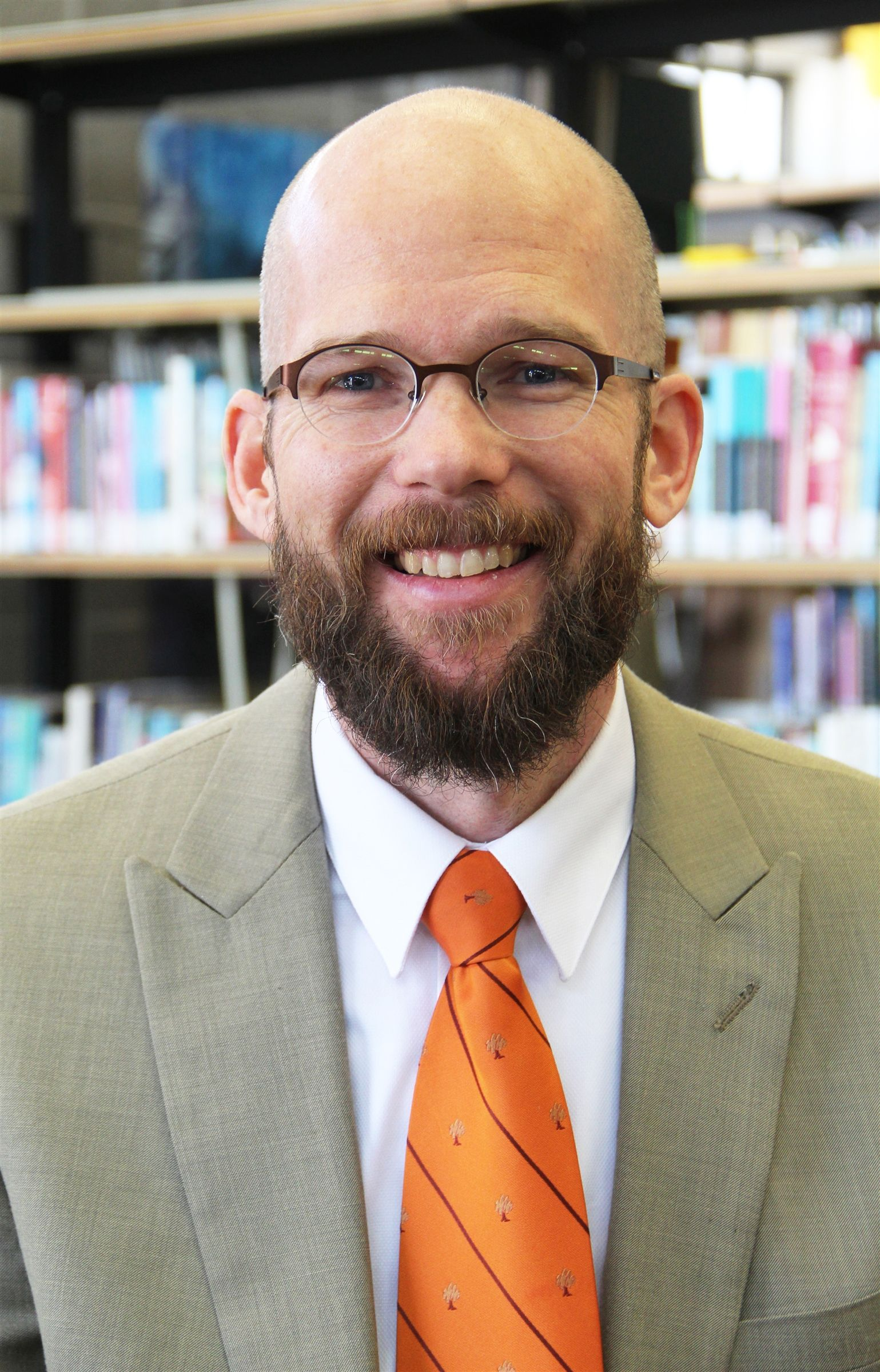 Incoming Head of School Jeremy Besch