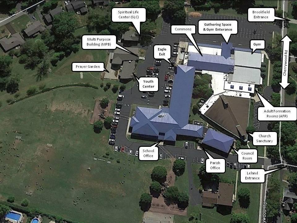 Campus Map Holy Trinity Parish School