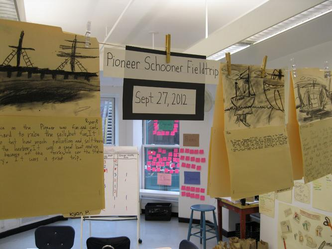 The 9s share their observations and impressions from a trip to the Pioneer Schooner.