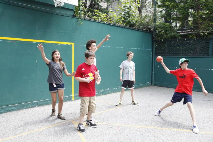 The Class of 2013 playing one of MANY games of JBMK