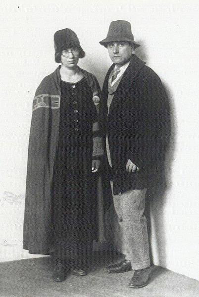 <p>William and Marguerite Zorach, 1919<br> With permission from the Zorach family</p>