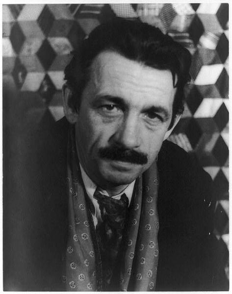 "<p>Thomas Hart Benton, 1935, photo by <a href=""http://en.wikipedia.org/wiki/Carl_Van_Vechten"" target=""_blank"">Carl Van Vechten</a><br> Library of Congress</p>"
