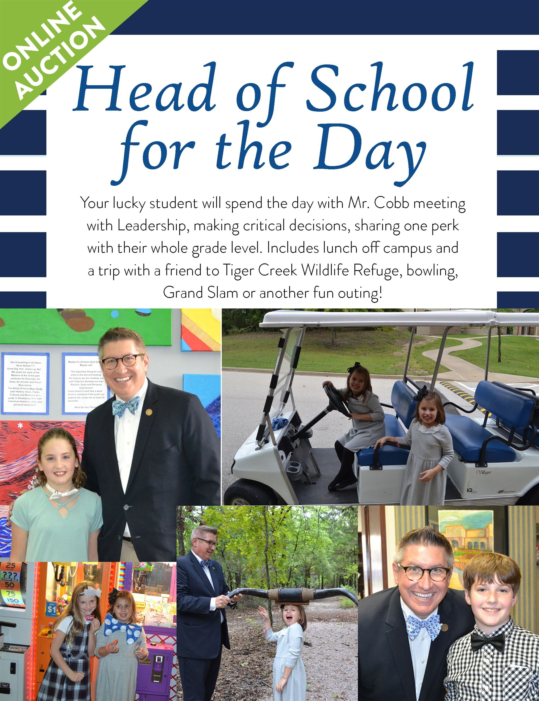 Head of School for a Day