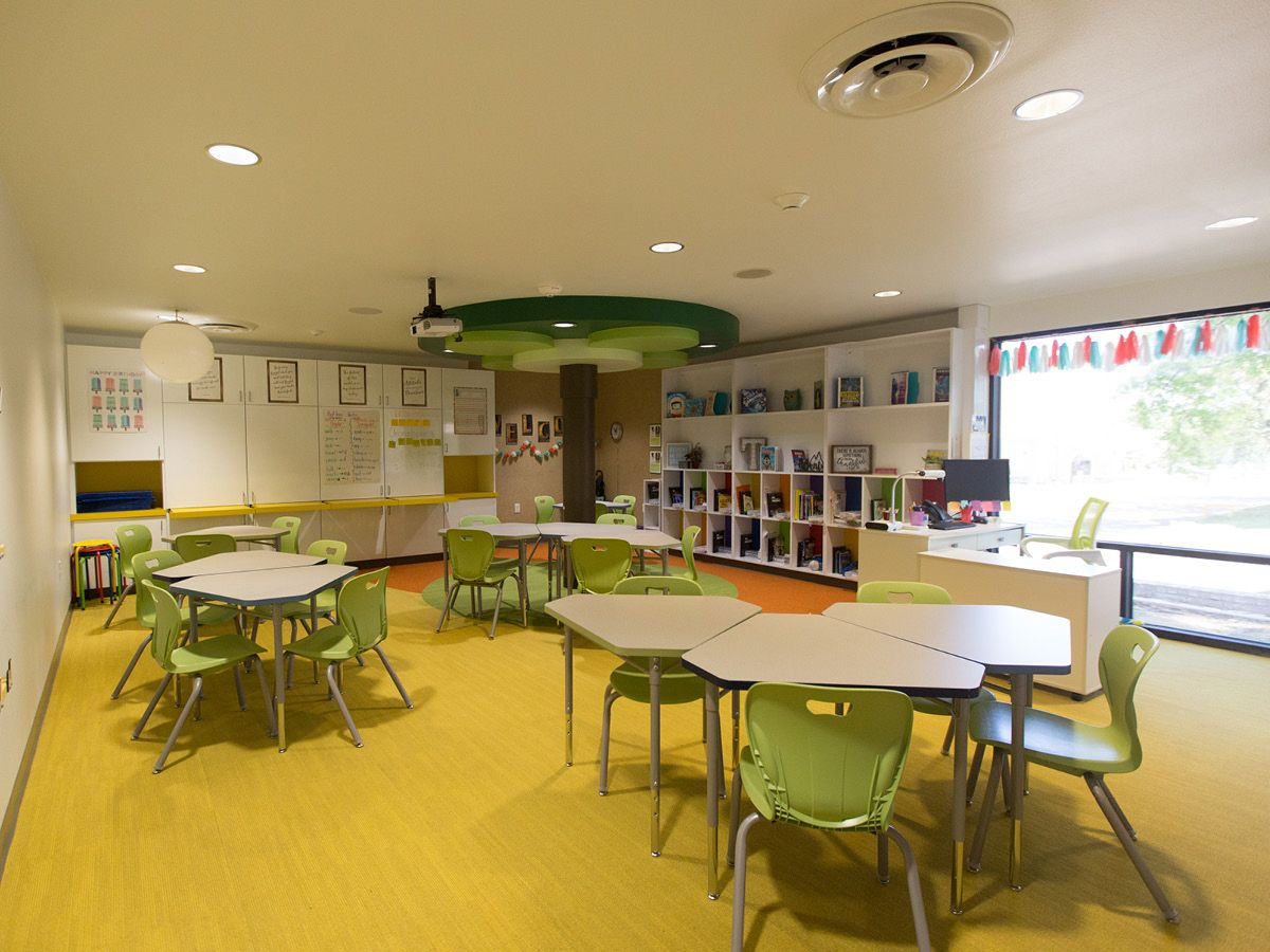 One of a kind collaborative learning space