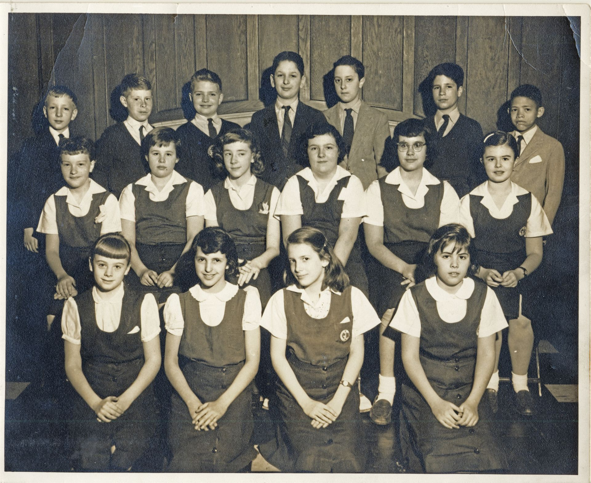 Class of 1958 in 1956