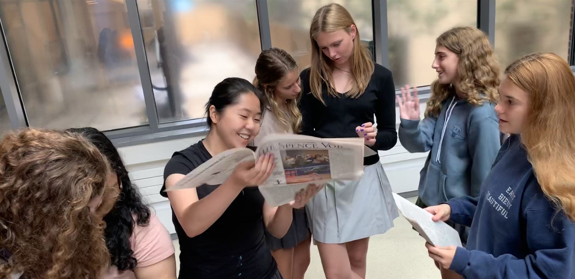 Spence's student newspaper, The Spence Voice, was awarded a Gold Medal from the prestigious Columbia Scholastic Press Association's (CSPA) Medalist Critique.