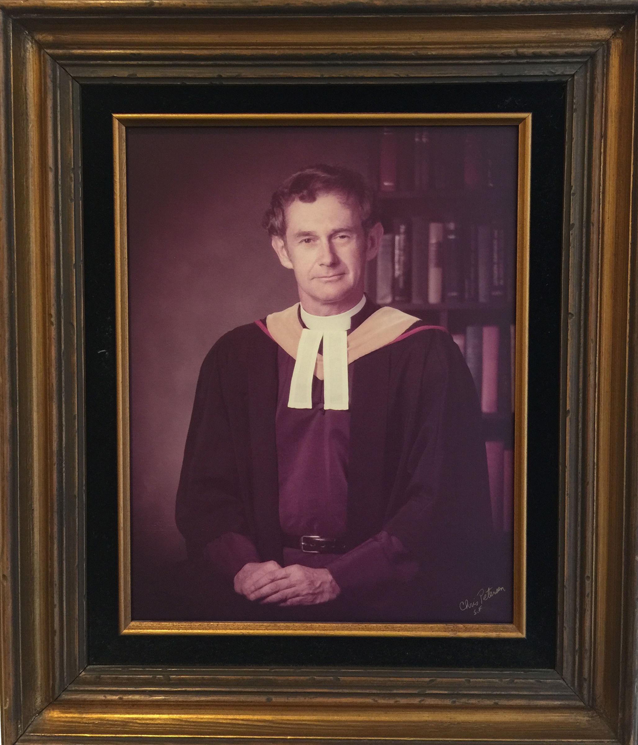 The Rev. Canon David R. Forbes, Cathedral School for Boys Founding Headmaster