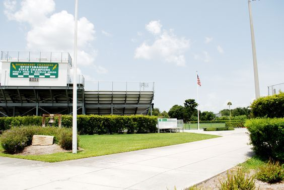 Haskell Field entrance