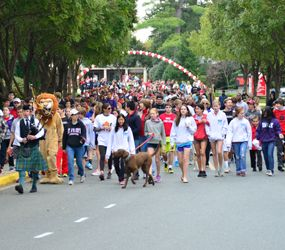 St. Andrew's Annual Walkathon at Homecoming raises money for the homeless
