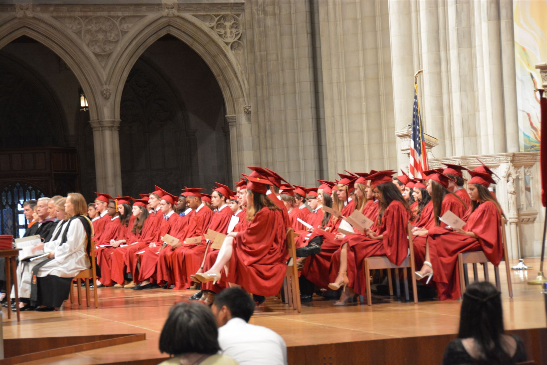 St. Andrew's Holds Its 33rd Commencement at Washington National Cathedral