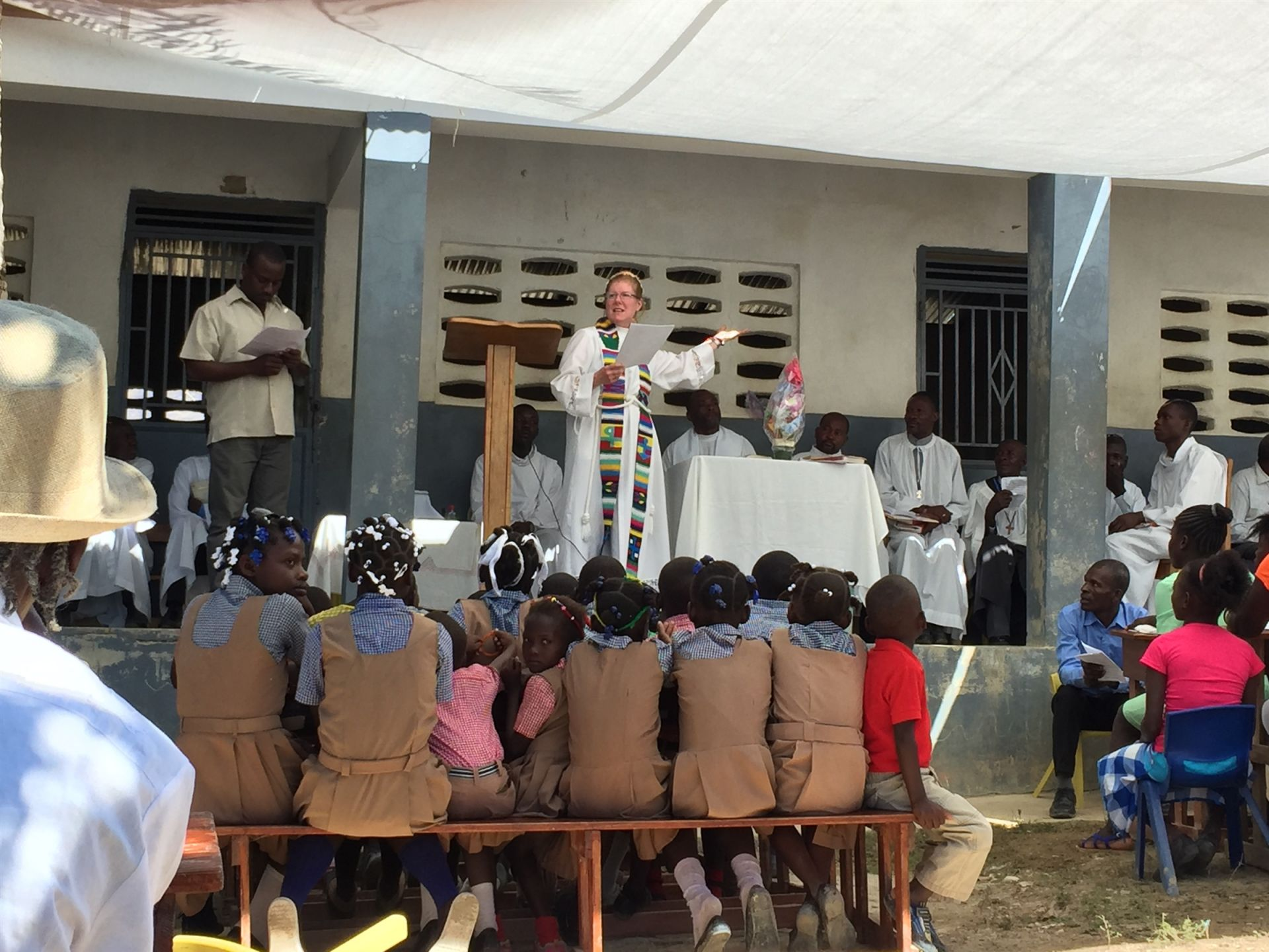 International partnership with Christ Roi in Civol, Haiti - St. Andrew's Episcopal School