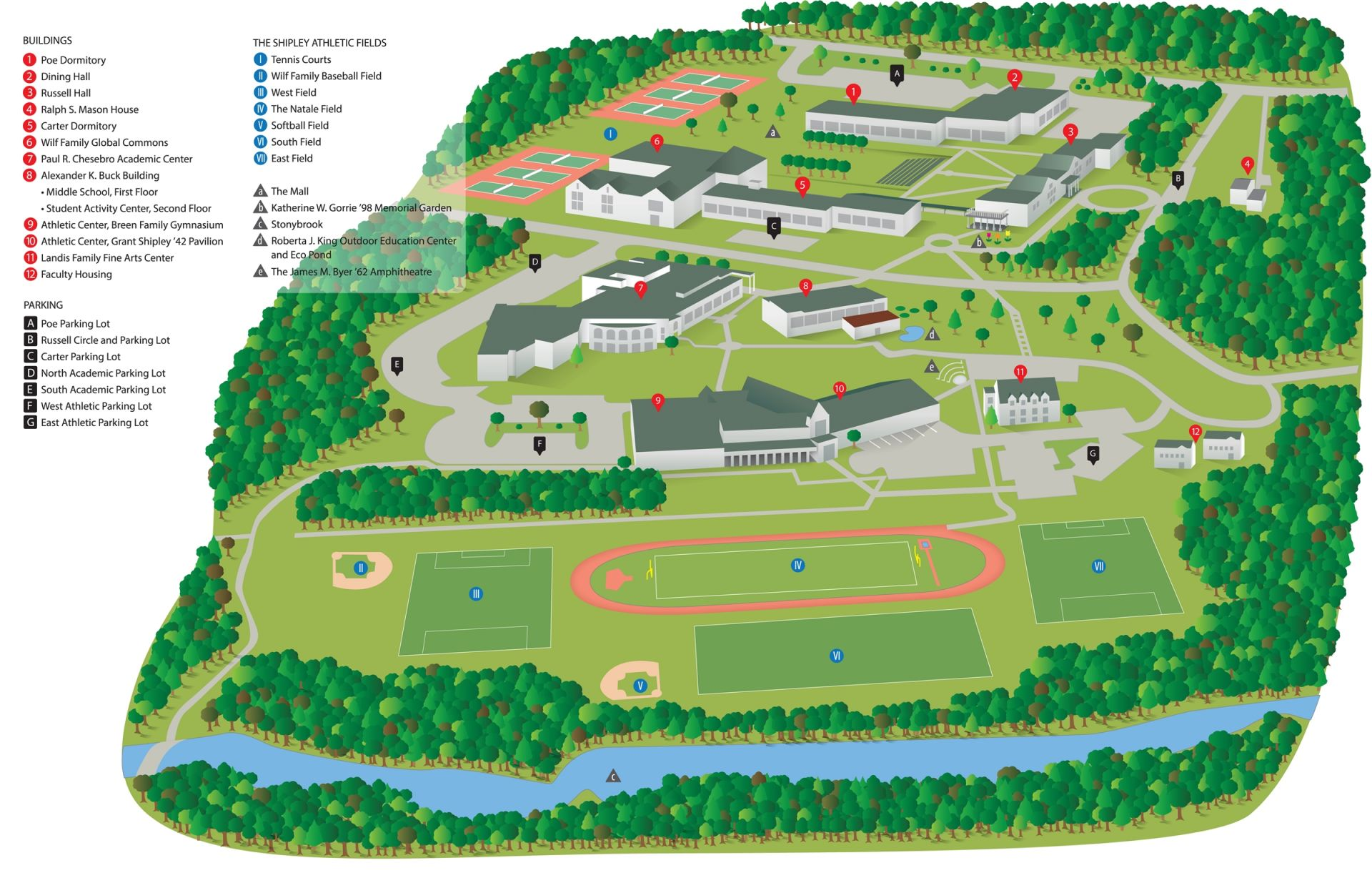 School Campus Map.Campus Map