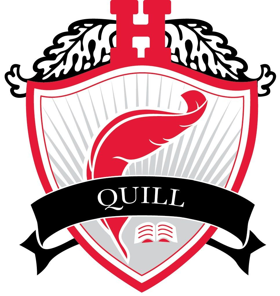 Named for the quill pen within The Hun School shield, Quill House represents the integrity of our academic mission and the continued trust we place in the power of education. The Quill House logo bears a bright red-feathered quill and book.