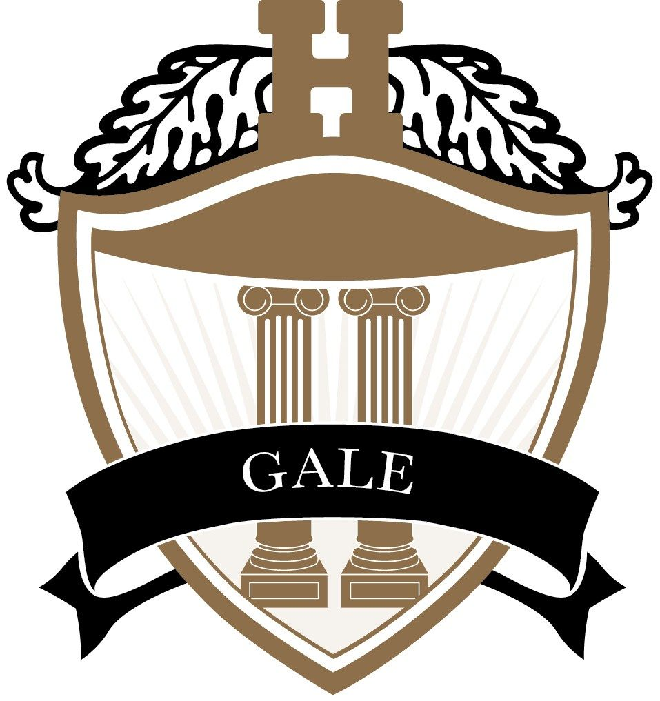 Named in honor of Dr. Hun, Gale House represents the creativity, entrepreneurial spirit, and kindness of our founder. The Gale House logo is gold and includes the School's very first teaching table, a 100-year-old antique that can still be found in Russell Hall.