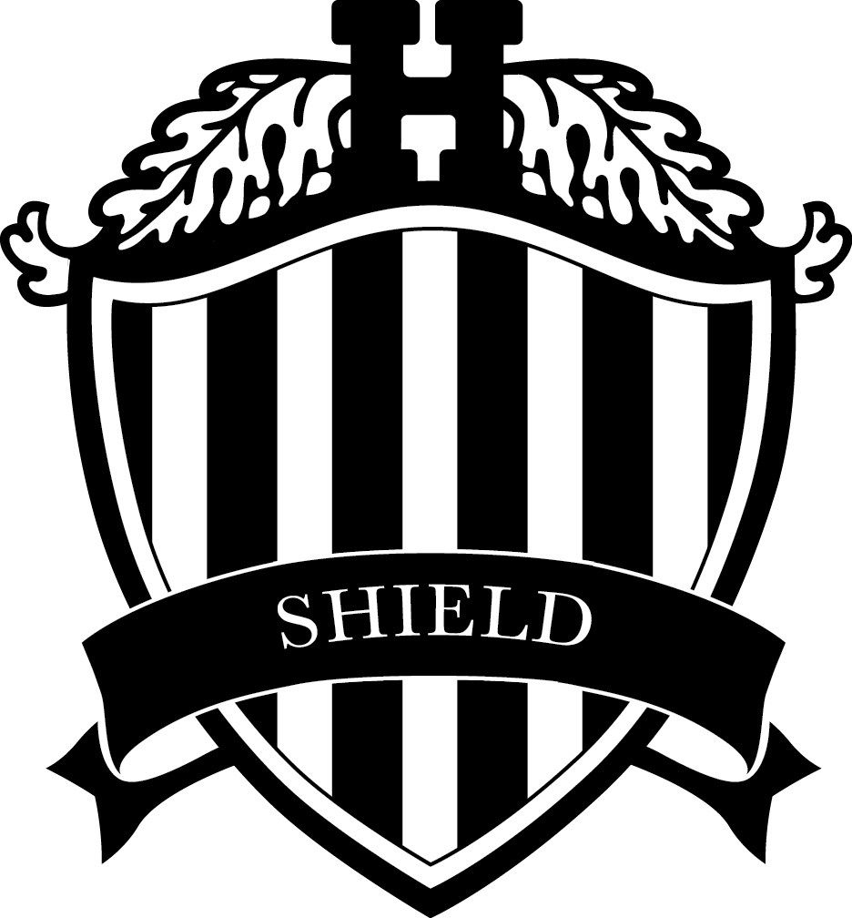 Named after The Hun School's original logo, Shield House represents the strength of our School values and our commitment to the quest for knowledge and honor. The Shield House logo is a bold black and white striped design borrowed from the stripes in the School's primary logo.