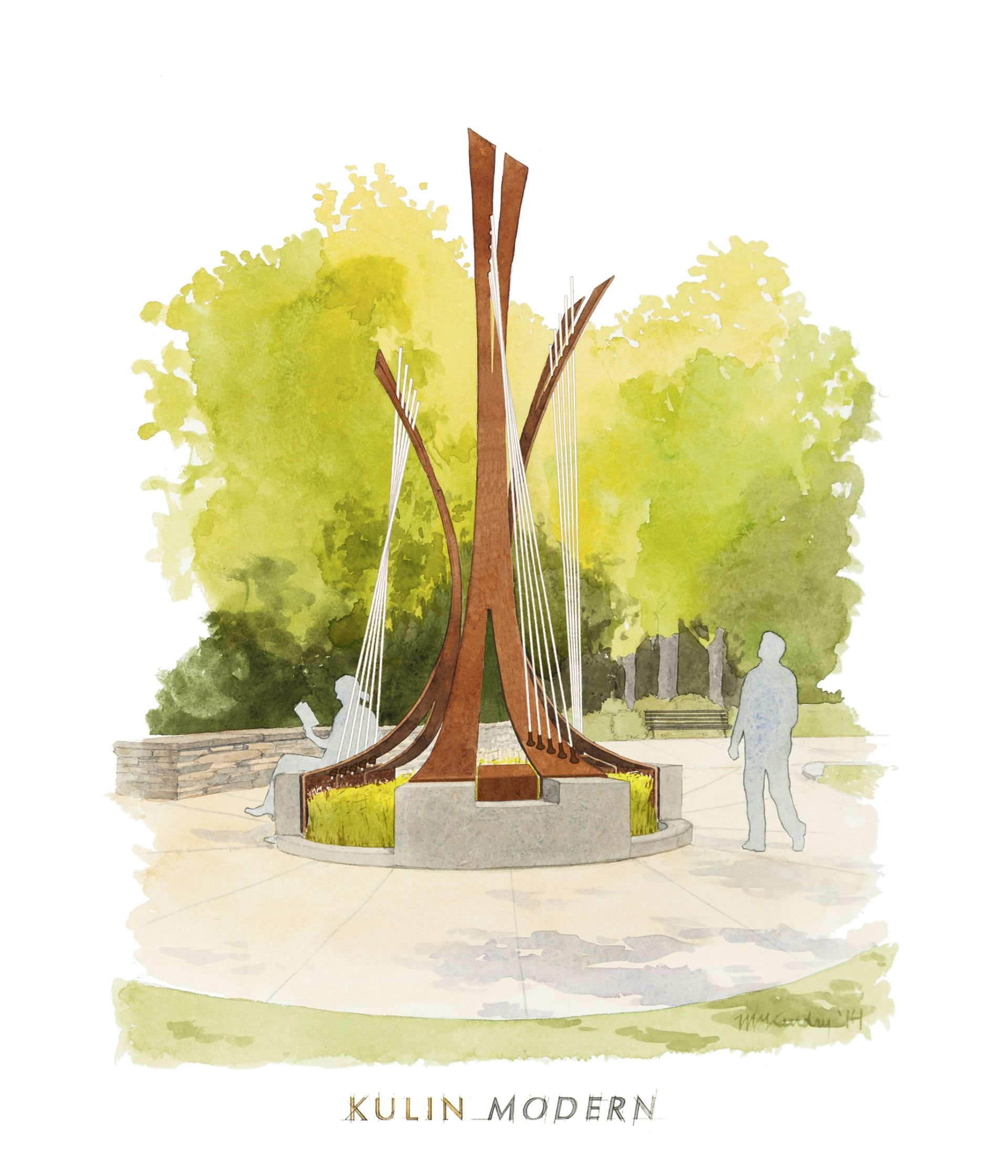 <i>Untitled</i> to be installed at Symphony Park in Boston, MA.