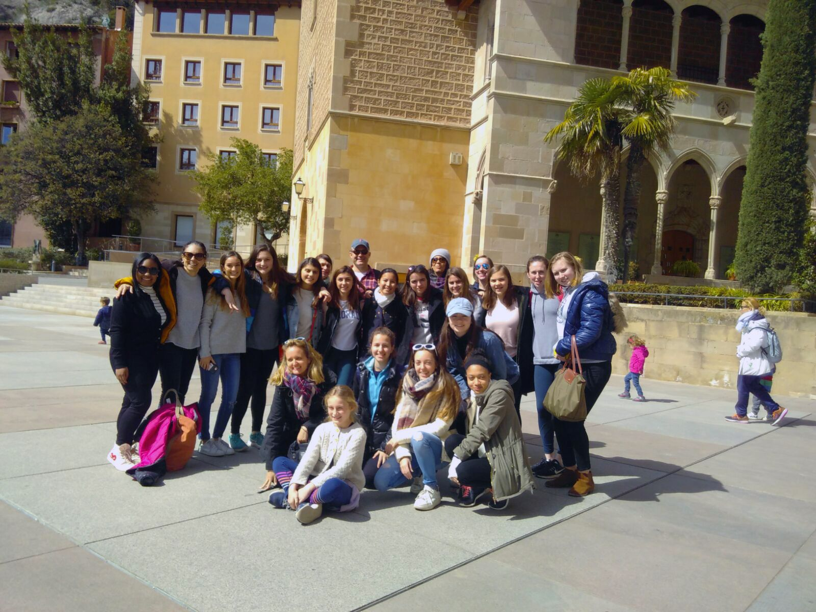 Students also visited the Shrine of Monserrat, a popular pilgrimage spot in Barcelona who has welcomed such visitors since as far back as the 12th century!