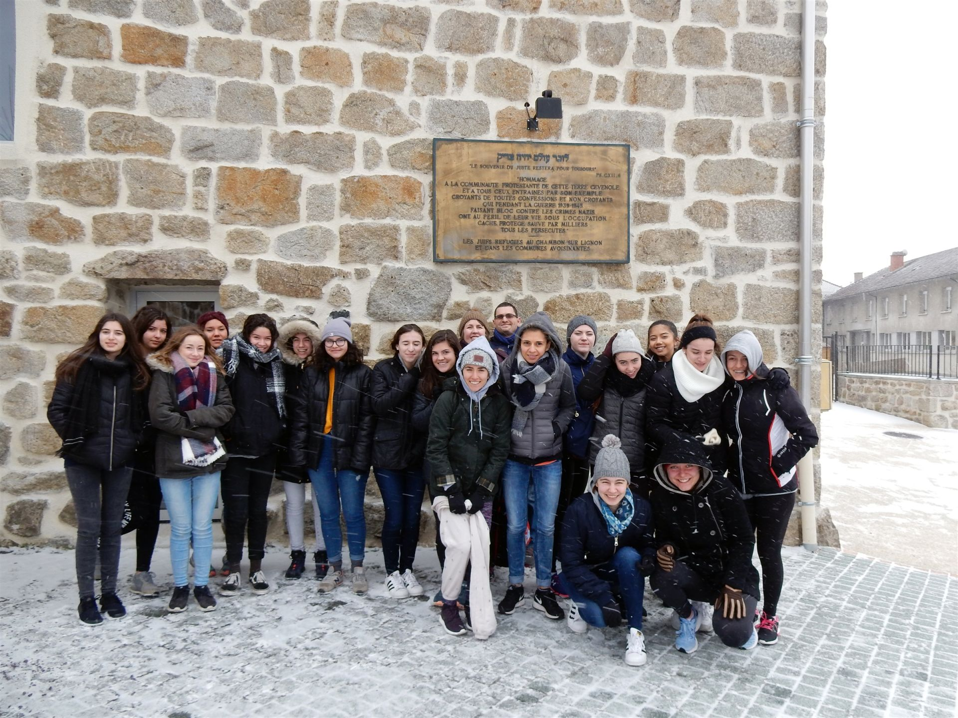 Classroom lessons came to life while visiting Le Chambon-sur-Lignon, a village now well-known in the Oak Knoll community for their efforts to save 3,500 Jews during the Holocaust.