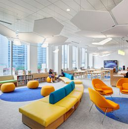 A warm library atmosphere with expert staff encourage avid reading and research