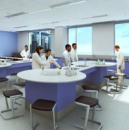 Our STEM labs will be hubs of sophisticated research and experimentation