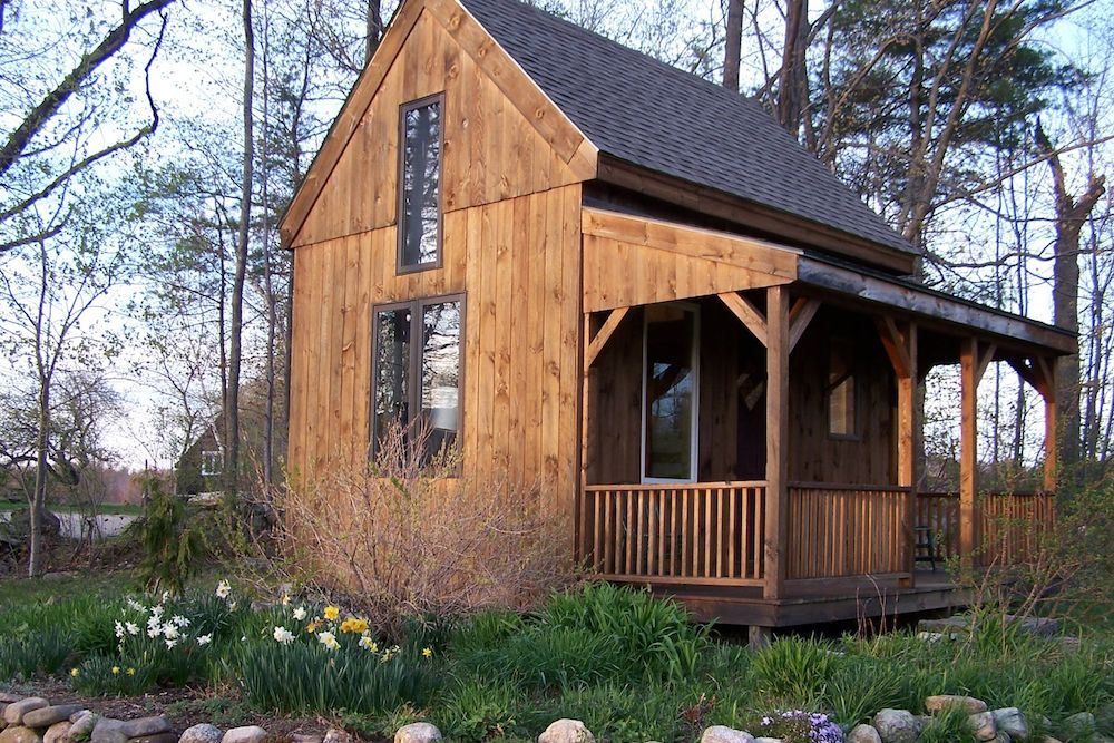The David Anderson Cabin for Peace and Social Justice is an outlet for social activism.