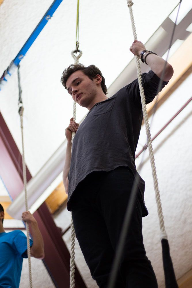 Keiran Sass '17 recently made it into Circus Smirkus; a professional circus group he will be touring with this summer.