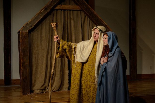 The Nativity has been performed every year since the school was founded.