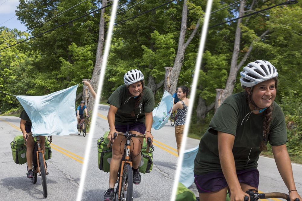 Two months, 12 days and several thousand miles after the start of her journey, rising Senior Noa Sadeh has returned home from her cross-country bicycle trip. Congratulations on completing such an inspiring trek!