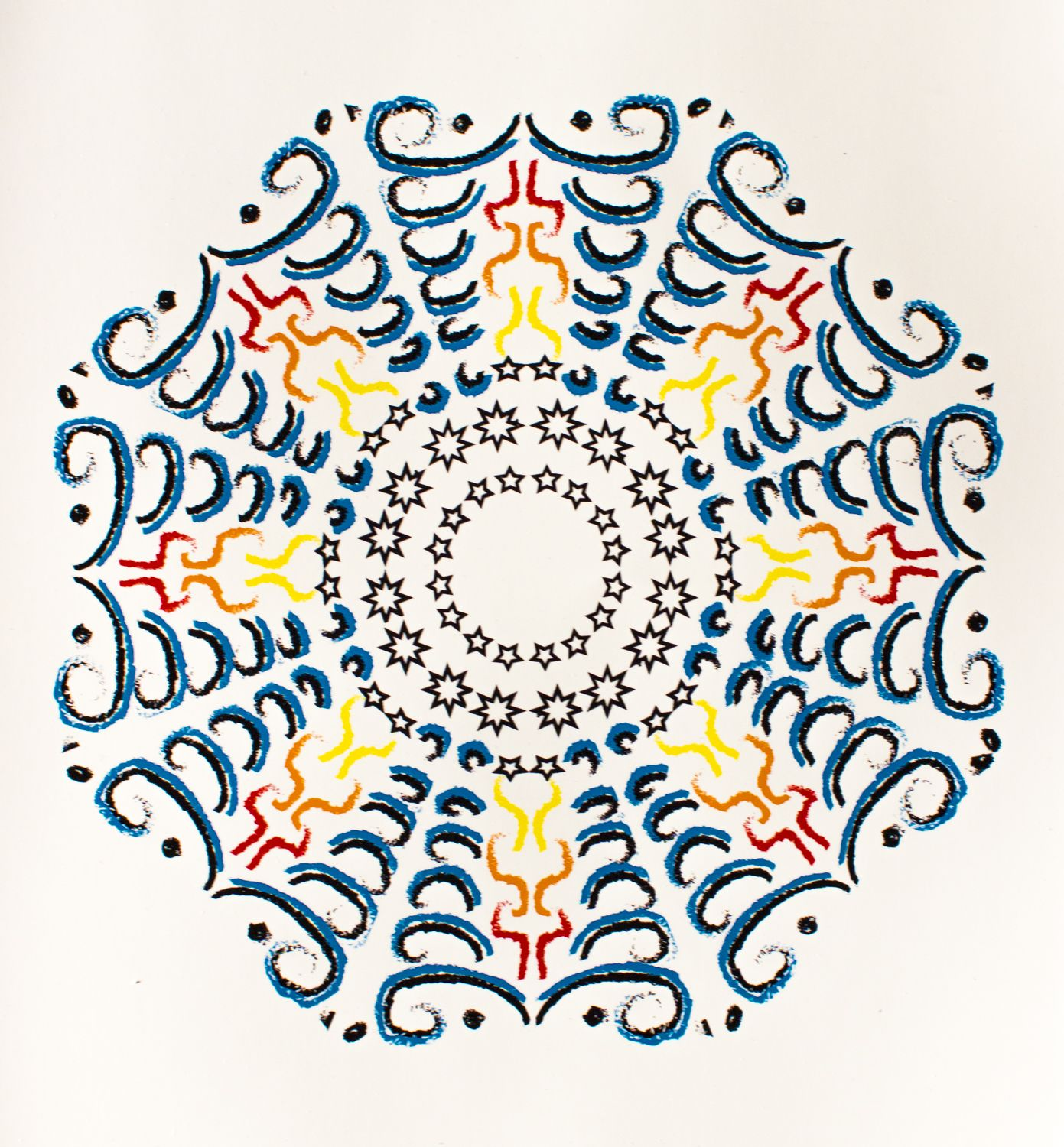 Mandala pattern created by Livvy Frazier