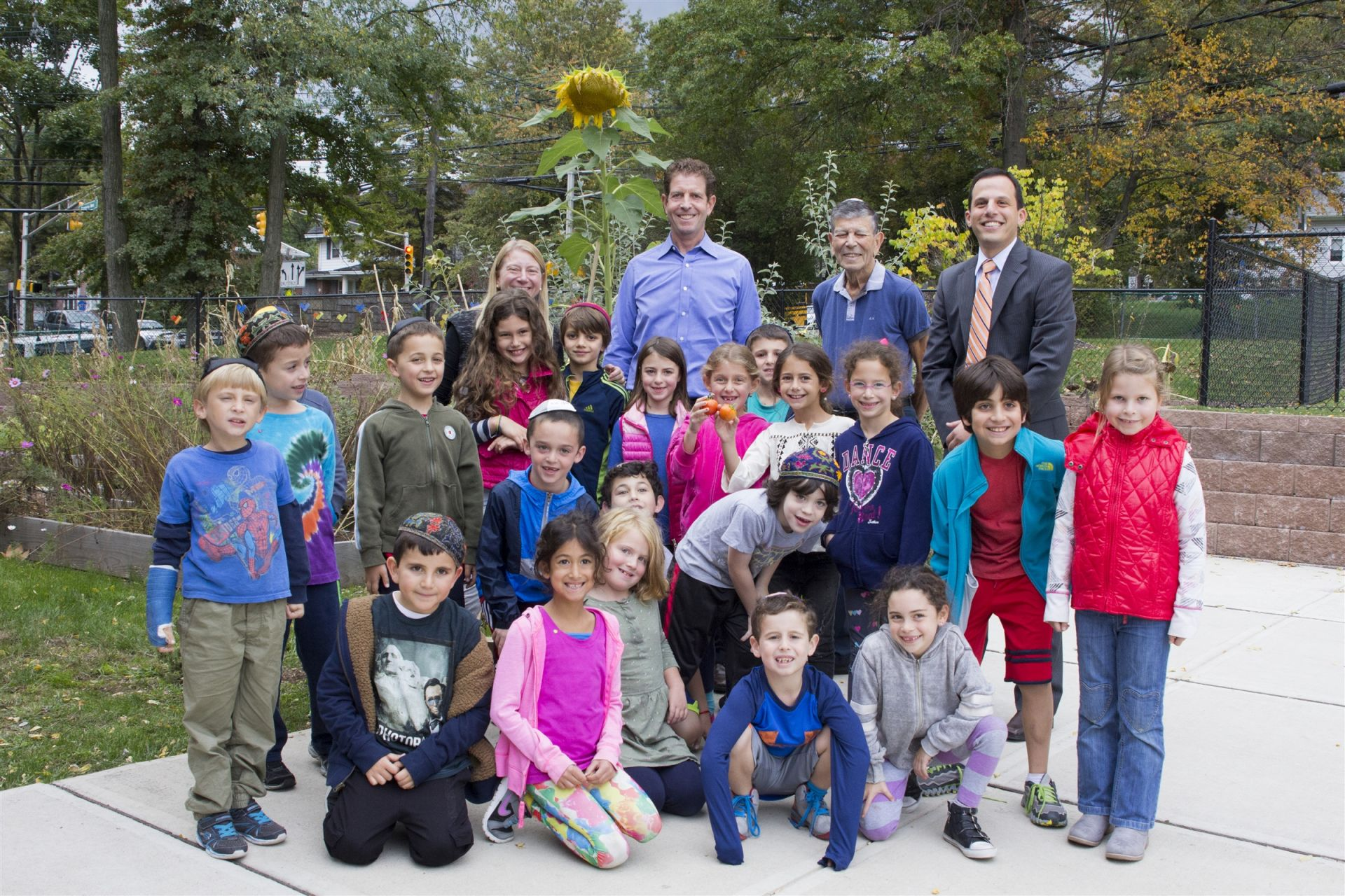 Dan and Michael Och visited the Wilf Lower School Campus October 2015.