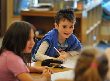 Students in grades 1-2 and 3-4 benefit from mixed-age classrooms.