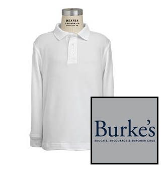 Long-sleeve polo shirt with logo