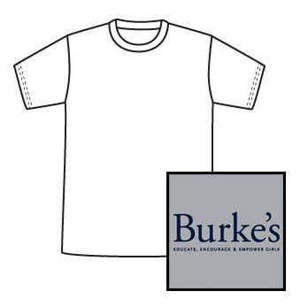 P.E. shirt with logo
