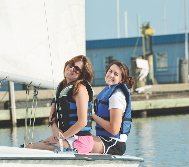 In keeping with the Academy's mission of developing the whole person, students are encouraged to explore their interests and develop new skills. Sailing Club is just one of many after-school opportunities available to our students.