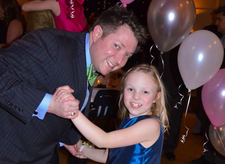 The PA sponsors several social events during the year, including the Father-Daughter Sweetheart Dance.