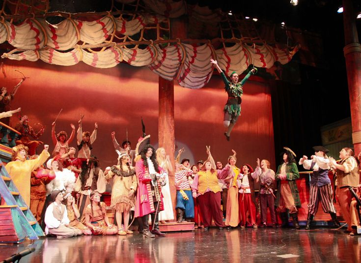 Upper School production of 'Peter Pan'