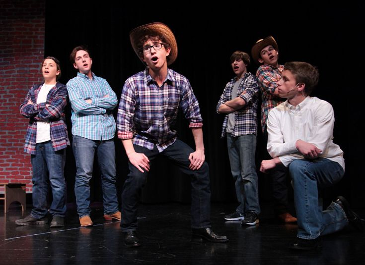 Upper school production of 'Footloose.'