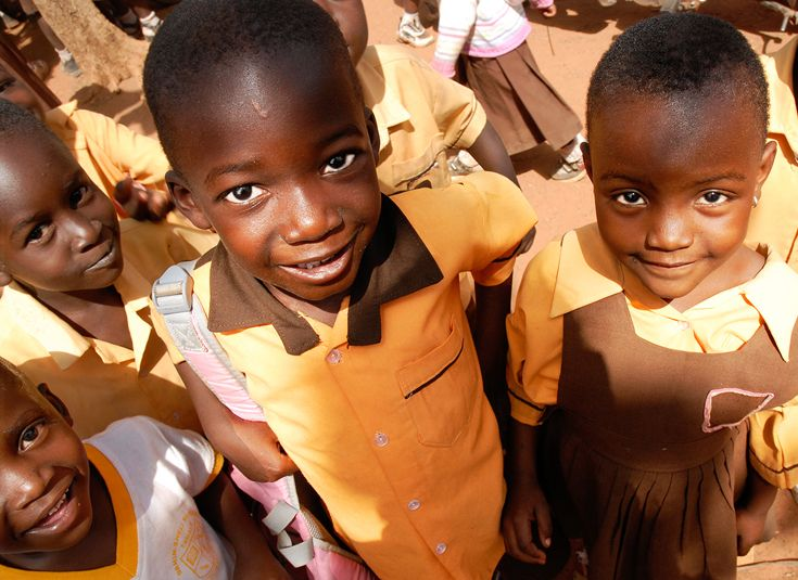 Elementary schoolers at the Dahin Sheli Primary School in Tamale, Ghana.