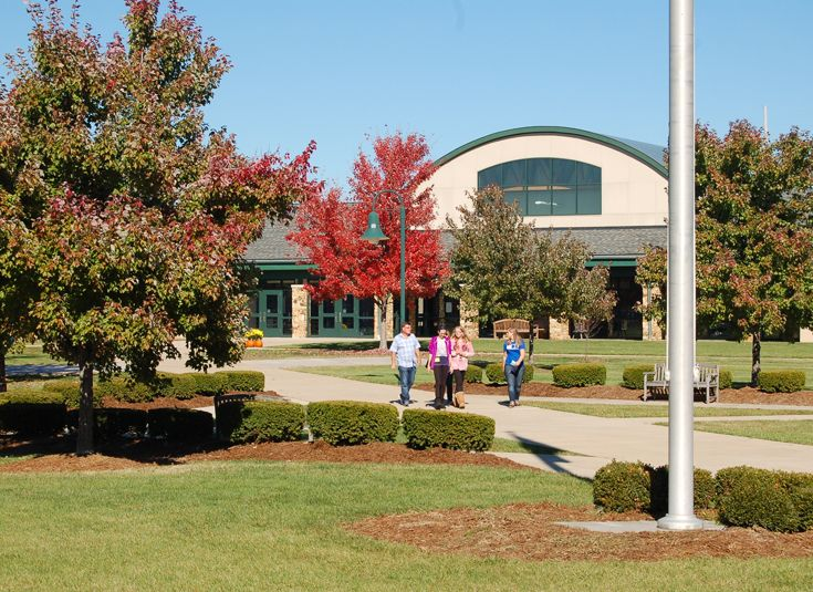 Kentucky County Day School sits on a beautiful 80 acre campus