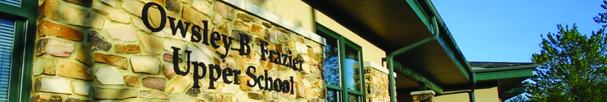 Owsley Frazier Upper School building